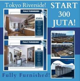 Apartemen Murah Type Studio di Tokyo Riverside PIK2 Utara Jakarta!