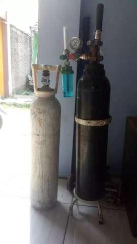 Tabung oksigen bekas pakai murah