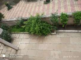 1 room for 1 male bachelor near Shaktinath circle in 3 BHK rowhouse