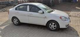 Hyundai Verna Diesel 2009 SX Top Model Chandigarh Number