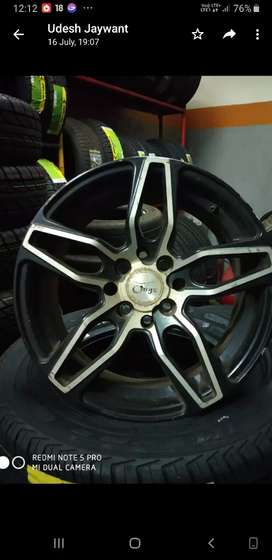 "Alloy wheel 15"" only three piece"