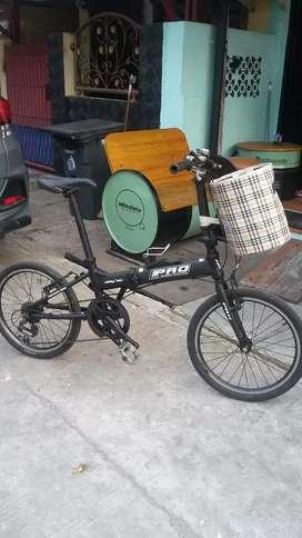 "Sepeda lipat 20 "" Pro AL 100"