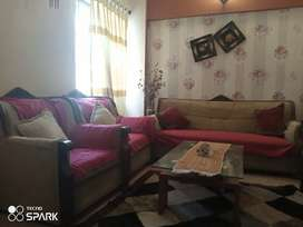 Wooden best sofa with good condition .