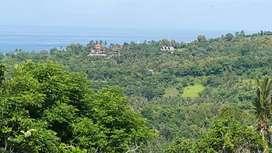 Tanah Bukit senteluk Batu layar view laut