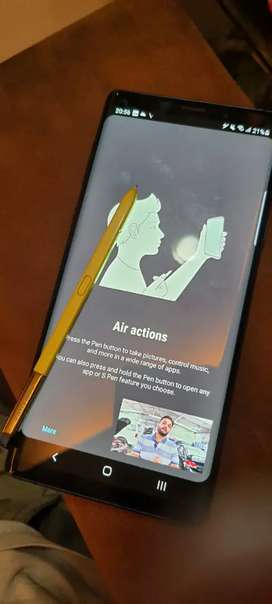 Samsung Note 9 . Scratchless condition. 2 year old.