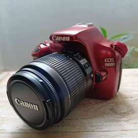 Canon 1100D Lensa kit 18+55mm Red Edition