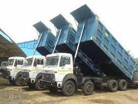 Urgently required 6,10,12&14 wheelers HYVA tipper in mining sectors
