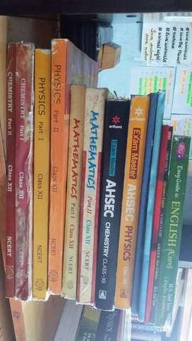 Class 12 PCM+English and Alt.E textbooks