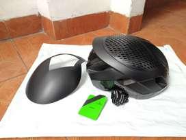Helm rockbros 3 in 1 warna hitam