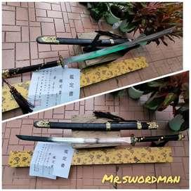 Pedang Black Horse Warrior sword