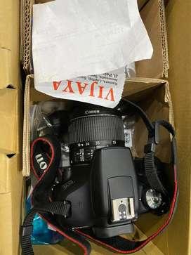 Canon eos 1500D fullshet likenew
