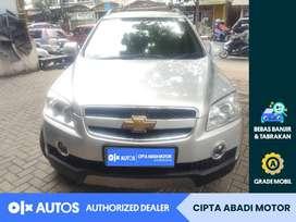 [OLX Autos] Chevrolet Captiva 2010 L 2.0 A/T Solar Silver #Cipta Abadi