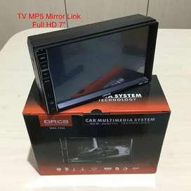 Sale Tv Mobil 7 Inci Mirrorlink Youtobe N Gps Rp. 350 Rb