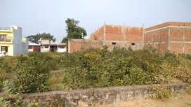 A residential plot for sale