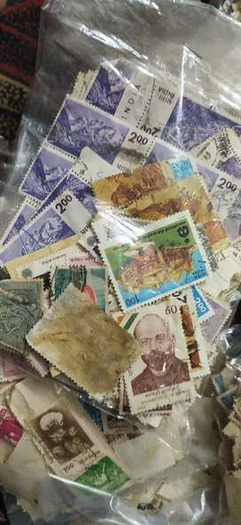 Old stamps collection all India stamps and other country stamp
