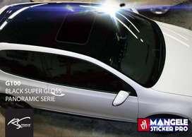 Premium Atap Panoramic Stiker Wrapping Mobil Keren Mangele Sticker Pro