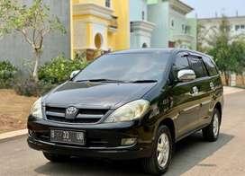 ANTIK!!Toyota Kijang Innova G A/T Diesel 2008 nopol cantik pajak pnjg