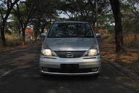 Nissan Serena HWS 2.0 AT 2011 Warna Silver Metalik