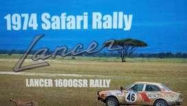 Jual Mitsubishi Galant GS Klasik Antik Langka 1972 Juara Safari Rally