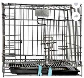 Metal cage for rabbit