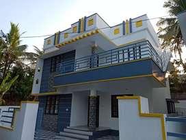 New 3bhk house 1500sqft 4cent kariavattom Nalumuku