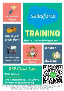 Salesforce training at Rsp cloud labs