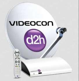 Videocon d2h setup box used