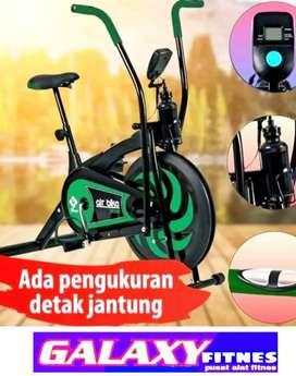 GROSIR ALAT GYM//ALAT FITNES TERLENGKAP sepeda statis platinum bike 13