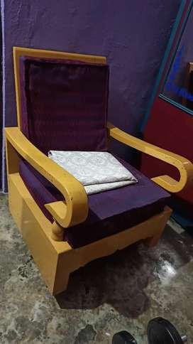 Wooden Chair Set x2