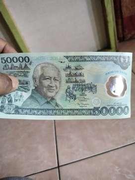 di maharkan uang kuno plastik soeharto