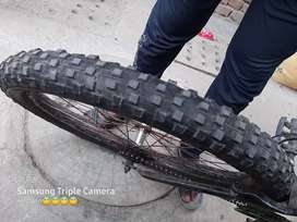 Ranger 26 number cycle fatty tyres