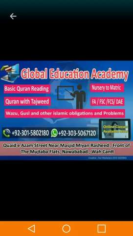 Global Education Academy For Boys