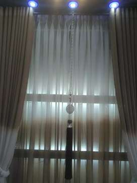 """Only 9000 PKR double curtains size..72"""" writhe 96""""lanth"""