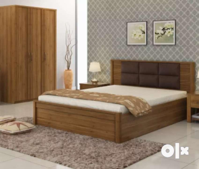 New Hexagon Bedroom Set#666