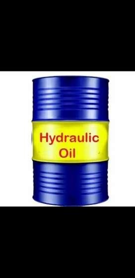 Hydraulic oil for injection molding machine and cranes