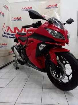 Ninja 250 Non Abs Tahun 2014I warna merah