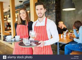Waiters in five star hotels/mall