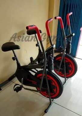 Sepeda 2 fungsi untuk fitnes ready