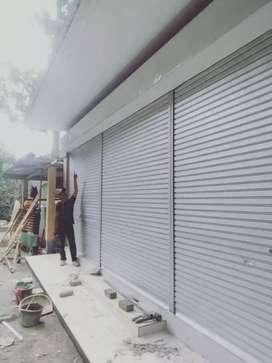 Roling door & polding gate murah