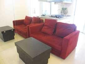 Disewakan Apartemen Bassura 2BR Tw G lt 11 AM Furnished, Cipinang, Jak