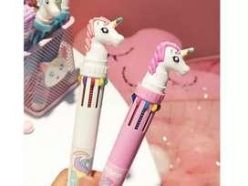 Pulpen karakter unicorn