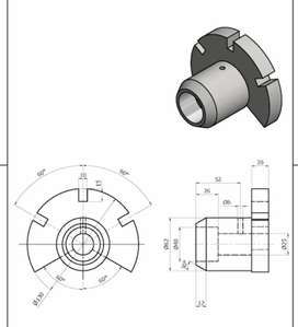 Auto CAD mechanical engineering designer