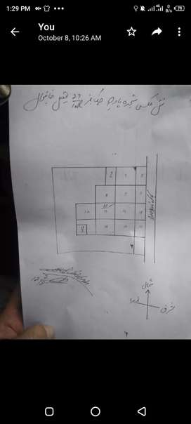 88 kanal land for sale.50 lac kanal