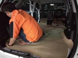 Pasang karpet dasar tebal serat berkualitas Bahan Vegas