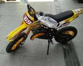 Motor trail 50cc 2.tak mesin rumput