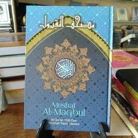 MUSHAF AL MAQBUL AL QURAN 1000 DOA A5 - 100% ORIGINAL