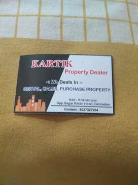We deals in all types property s..like rental