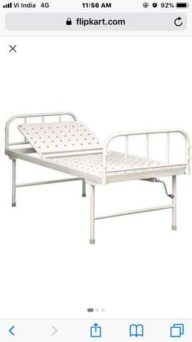 Iron hospital bed (Manual)