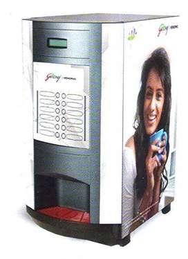 14 Options Branded Hot Beverages Vending Machine on Rental Basis