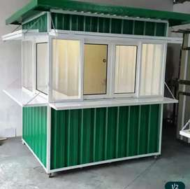 BOOTH COFFE SHOP. CONTAINER USAHA. FRANCHISE RESTO